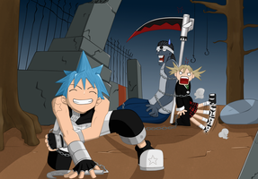 Soul Eater Ch 1 color by Hay-Hay-chan