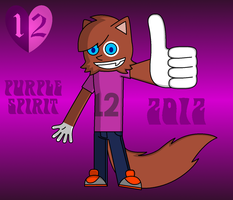 Purple Spirit 2012 by Qarcyn