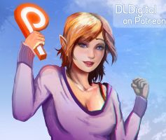 ~Patreon Announcement~ by DLDigital