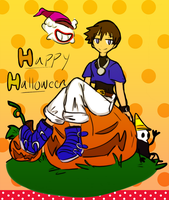 Happy Halloween! by supermariobrosfan