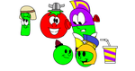 Very Veggie Costumes by PacandPinky101