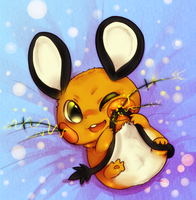 Dedenne by RosyMaple