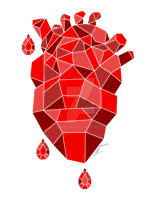 Crystal hearts by Jamie5m