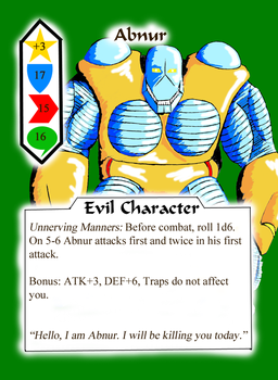 Abnur character card by GalaxyZento