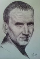 Dr Who Doctor Nine Christopher Eccleston by jezviking