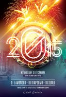 New Years Party Flyer by styleWish