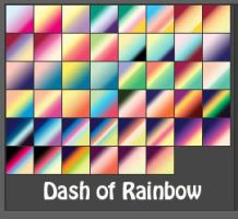 Dash of Rainbow Gradients by rafferty17