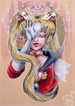 Sailor Moon-In the name of the moon by KiuBe