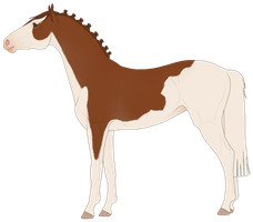 Horse Design for Sandraa-a by Neko-Raccoon