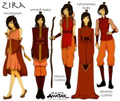 OC - Zira character sheet by honeymunchkin
