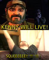KENNY WILL LIVE! by KristianTheTiragon