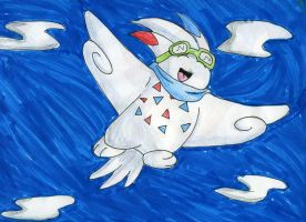 Gazer the Togekiss :D by Battyniconi