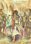 Jesus carrying the cross by Dark-kanita