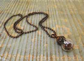 Little steampunk bulb pendant 2 by JLHilton