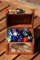 chest o' dice by bookscorpion
