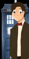 11th Doctor by h0m0-s