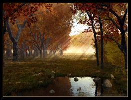 Autumn morning by 00AngelicDevil00
