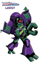 transformers animated Lugnut by ninjha