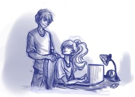 Hey it's Percabeth, guys. by lazy-perfs