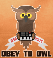 Obey to owl minimal by MaxatdesigN