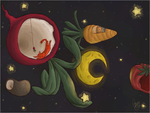Intergalactic Veggie Planets by Quaggy