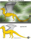 Drawing Improvement Meme Oct 2012-Apr 2013 by NobilisKrypton