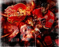 Robyn Regehr - Calgary Flames by AnthonyCook