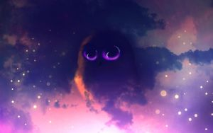 Cosmic Owl by IRedroom