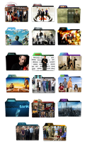 TV Show Folder Icon Pack ICO by kaik541