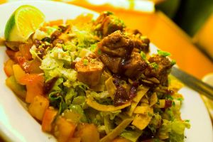 Barbecue Chicken Chopped Salad by Sidelocked