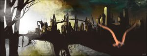The city by nadobart