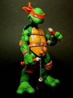 Michaelangelo is a party dude by 1-2-3-faux