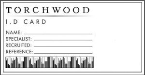 Torchwood ID template by supersmeg123