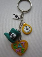 Wonderland-key-ring by Zoeira