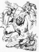Marvel Apes Cover 0 by Stonegate