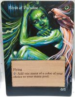 Magic Alteration: Birds of Paradise 3/13/15 by Ondal-the-Fool