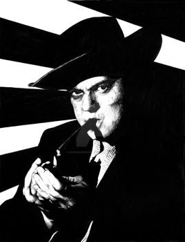Orson Welles - The Third Man by stephenburger