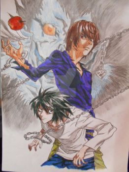 Death Note by Superscarykitty45