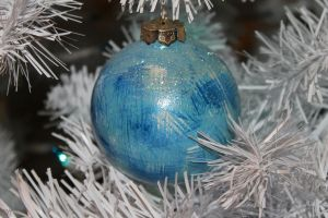 Solstice Ornament Blue 1 by WiccanWT