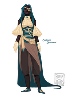 [closed] Adopt - Seafoam Lieutenant by fionadoesadopts