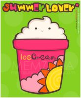 .:Colorful Ice Cream iD:. by Memzuna