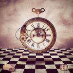 The Clock by Papillon-Noir-Art