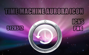 Time Machine Aurora Icon by psychoskullz