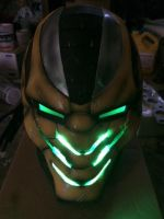 Cyrax completed helmet cast by made007