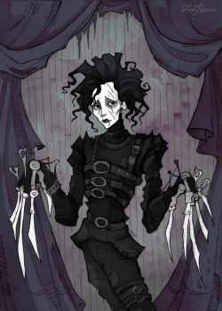 Edward Scissorhands by IrenHorrors