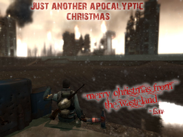 Merry Christmas from the wasteland by Kev-Dee