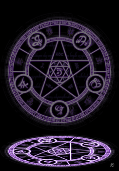 Magic circle by Arry4eternity
