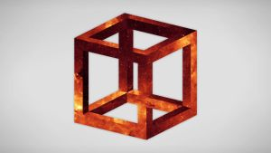 Penrose Triangle Cubes Penrose Triangle by as...