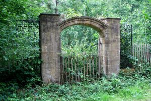 Overgrown Gate 2 - Stock by GothicBohemianStock