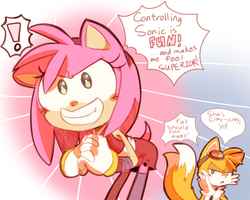 TAILS YOU SILLY by MisterCakerz
